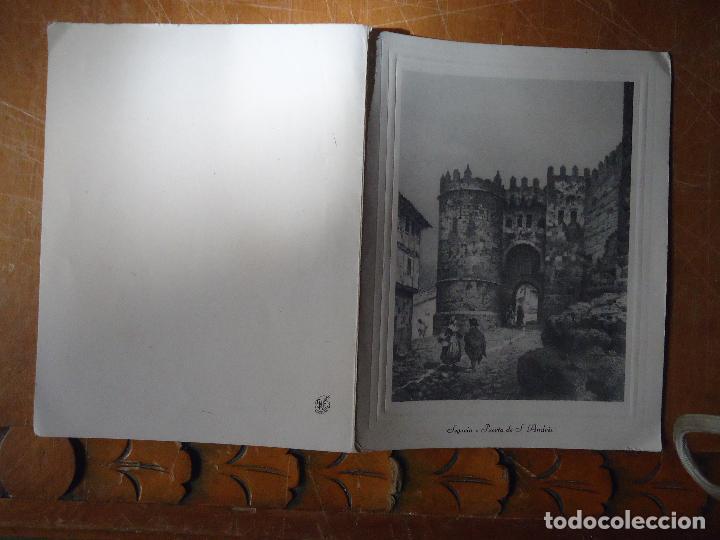 HUECOGRABADO SEGOVIA , PUERTA DE SAN ANDRES . 1969 (Arte - Huecograbado)