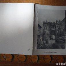Arte: HUECOGRABADO SEGOVIA , PUERTA DE SAN ANDRES . 1969. Lote 61536988