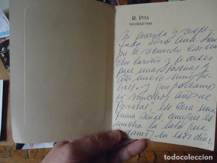 Arte: huecograbado o grabado , cadiz alameda apodaca . invitacion navidad r. pita 1962 - Foto 2 - 61537064