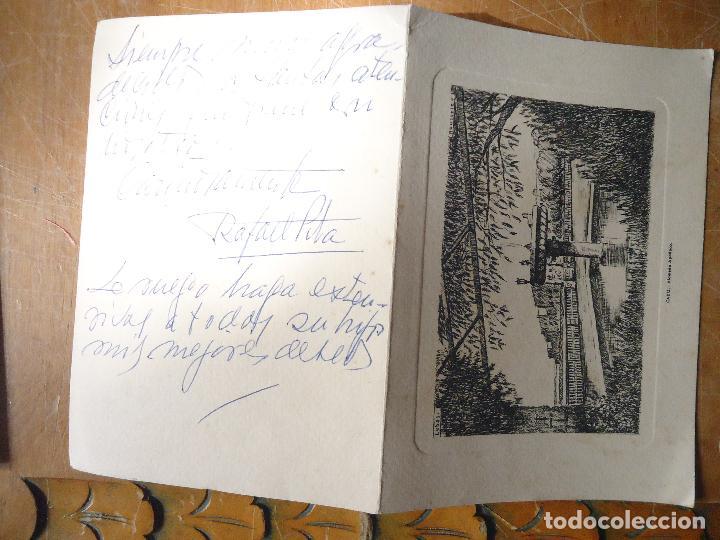 Arte: huecograbado o grabado , cadiz alameda apodaca . invitacion navidad r. pita 1962 - Foto 3 - 61537064