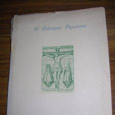 Arte: 30 ESTAMPAS POPULARES COPIADAS DEL HUECO GRABADO CALCOGRAFIAS RELIGIOSAS AÑO 1947 VER F.T. A.D.. Lote 94815823
