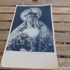 Arte: NUESTRA SEÑORA DE REGLA SEMANA SANTA DE SEVILLA PATRONA DE LOS PANADEROS FOTO SERRANO FOURNIER. Lote 76089139