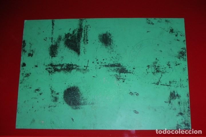 Arte: PLANCHA DE ZINC, ORIGINAL Y ÚNICA, CHISTE DE el PERICH, AÑO 1972. LEER LA DESCRIPCIÓN ,GRACIAS. - Foto 5 - 79586905