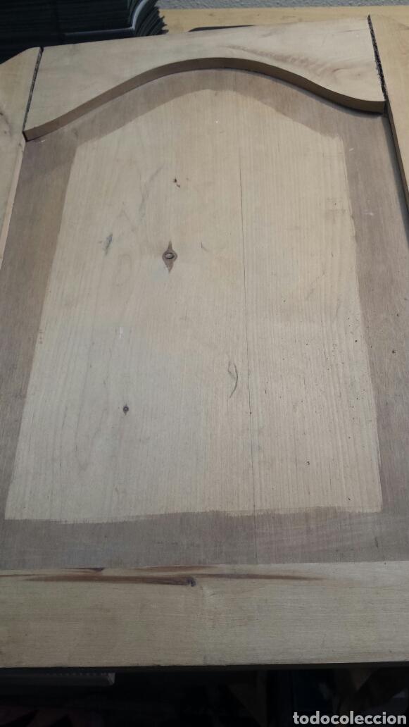 Arte: Puerta antigua de armario tallada a mano Totalmente como se ve en fotos - Foto 6 - 86981127