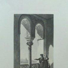 Arte: LOTE DE 5 LITOGRAFÍAS DE SEVILLA, VISTAS Y MONUMENTOS EN GRAN FORMATO. Lote 99511635