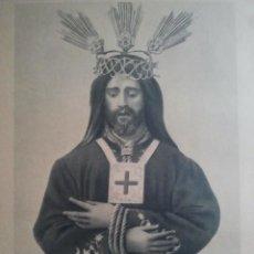 Arte: JESÚS NAZARENO RESCATADO - IMAGEN TRINITARIOS CÓRDOBA - HUECOGRABADO - FOURNIER - 37 X 27,5 CMS. Lote 108709635
