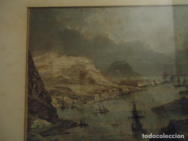 Arte: Paso de sus Majestades Imperiales En el puerto de Mahón Menorca - Foto 4 - 110528507