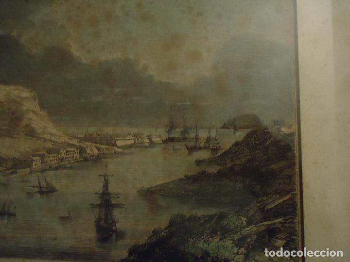 Arte: Paso de sus Majestades Imperiales En el puerto de Mahón Menorca - Foto 5 - 110528507