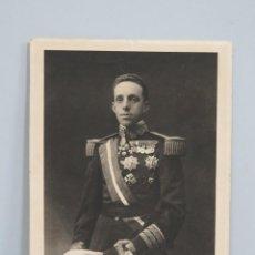 Arte: RETRATO ALFONSO XIII. HUECOGRABADO. SEGUN FOTOGRAFIA DE FRANZEN. MADRID. Lote 112621087