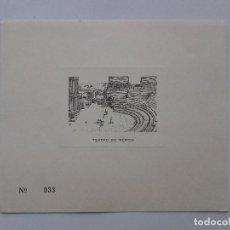 Arte: HUECOGRABADO, TEATRO DE MERIDA, EXTREMADURA. Lote 117764887