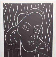 Arte: HENRI MATISSE - TEENY. GRABADO AL LINÓLEO PARA XXE SIÈCLE, 1938. LINOGRABADO. Lote 130922903