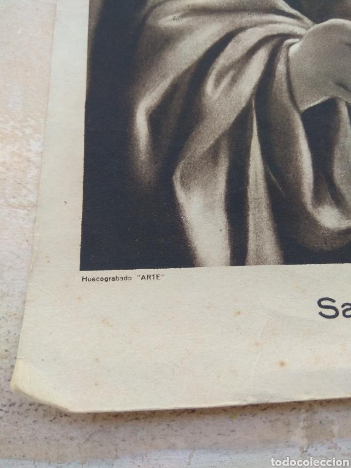 Arte: Lamina Sagrado Corazón - Huecograbado Arte - Ediciones Luker - - Foto 5 - 137849469
