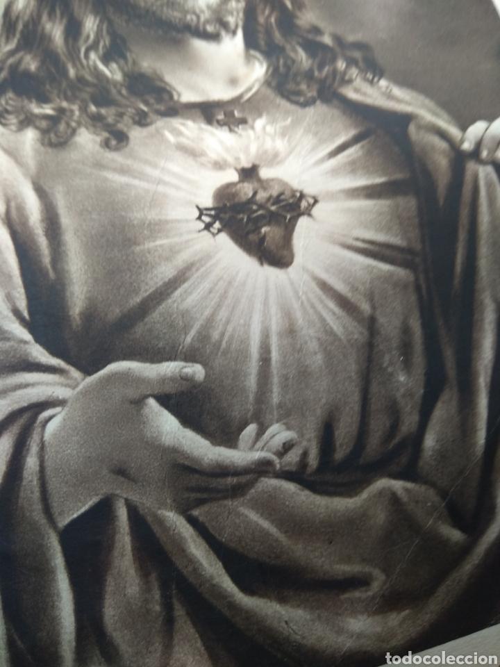 Arte: Lamina Sagrado Corazón - Huecograbado Arte - Ediciones Luker - - Foto 7 - 137849469