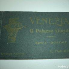 Arte: ANTIGUO ALBUM DE 20 POSTALES EN HUECOGRABADOS DE VENEZIA - IL PALAZZO DUCALE, BUEN ESTADO. Lote 168436616