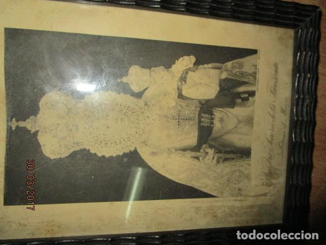 Arte: ANTIGUO HUECO GRABADO MAMBRU BARCELONA VIRGEN FUENSANTA MURCIA MARCO MADERA - Foto 7 - 184062418