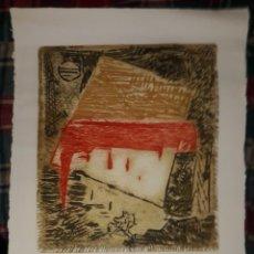 Arte: ERIK LEVESQUE - HUECOGRABADO SOBRE MADERA, FIRMADO Y NUMERADO POR EL AUTOR 3/60. Lote 189447751