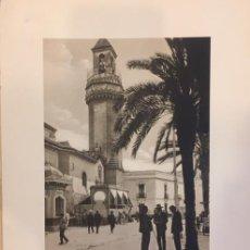 Arte: LAMINA DE CORDOBA IGLESIA DE S. NICOLAS HUECOGRABADO. WUNDERLICH AÑOS 30-40. Lote 196993111