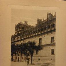 Arte: LAMINA DE SALAMANCA PALACIO DE MONTEREY HUECOGRABADO AÑOS 30-40 WUNDERLICH Nº 2261. Lote 196997241