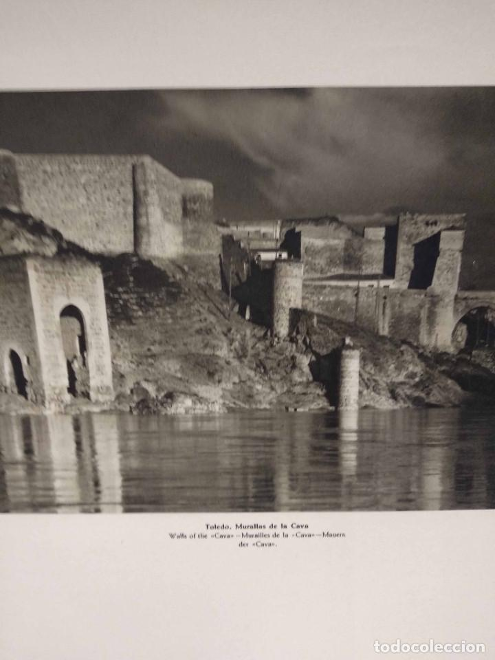Arte: Lote 10 fotografias huecograbado de Toledo de Jose Ortiz Echague - Foto 3 - 198365331