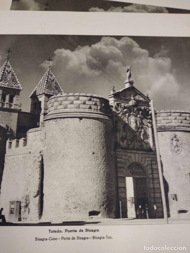 Arte: Lote 10 fotografias huecograbado de Toledo de Jose Ortiz Echague - Foto 5 - 198365331