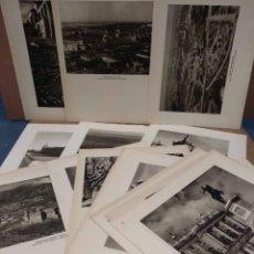 Arte: LOTE 26 FOTOGRAFIAS HUECOGRABADO DE MADRID DE JOSE ORTIZ ECHAGUE. Lote 198365486
