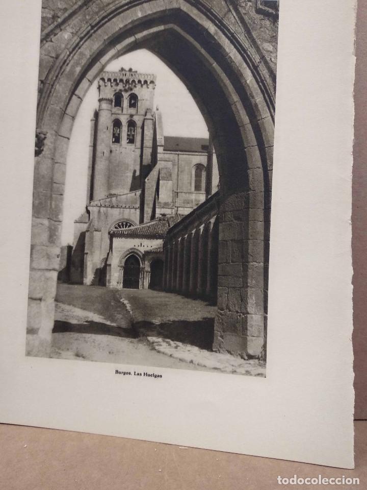Arte: Lote 8 fotografias huecograbado de Burgos de Jose Ortiz Echague - Foto 4 - 198365601