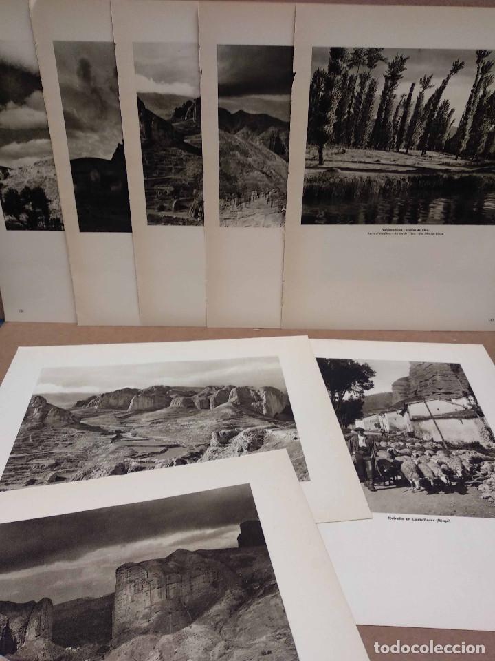 LOTE 8 FOTOGRAFIAS HUECOGRABADO DE LA RIOJA DE JOSE ORTIZ ECHAGUE (Arte - Huecograbado)