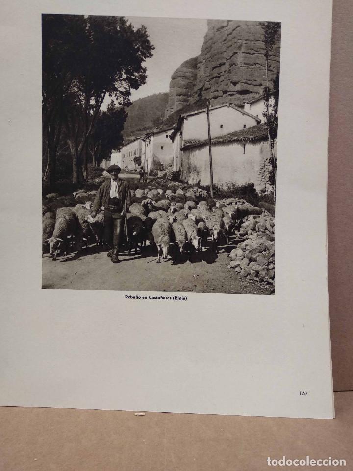 Arte: Lote 8 fotografias huecograbado de La Rioja de Jose Ortiz Echague - Foto 2 - 198387910