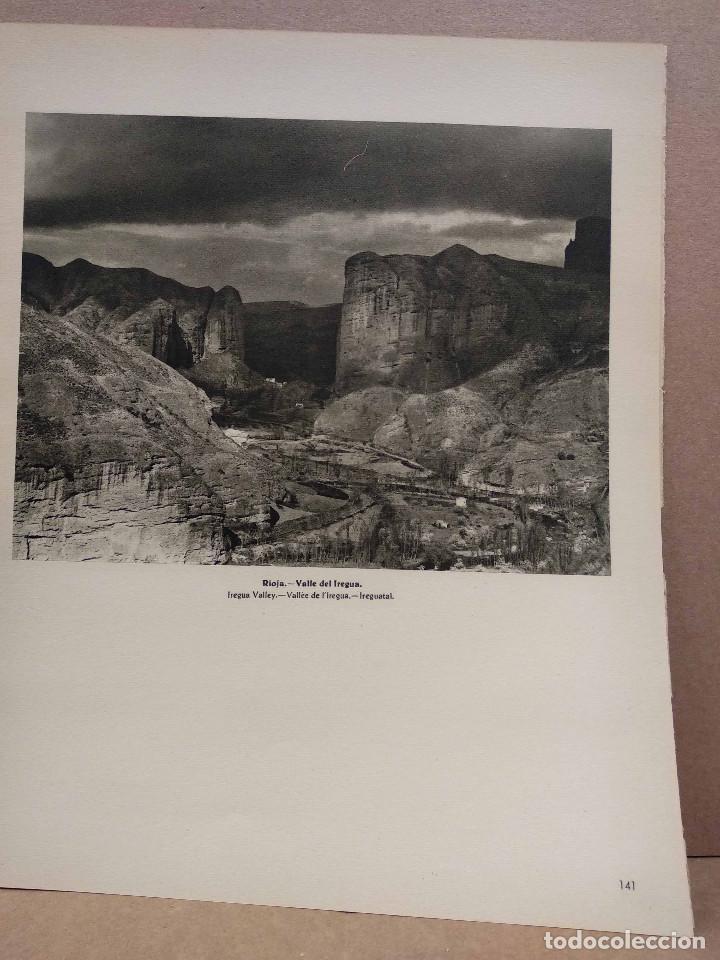 Arte: Lote 8 fotografias huecograbado de La Rioja de Jose Ortiz Echague - Foto 4 - 198387910