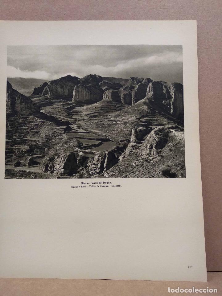 Arte: Lote 8 fotografias huecograbado de La Rioja de Jose Ortiz Echague - Foto 5 - 198387910