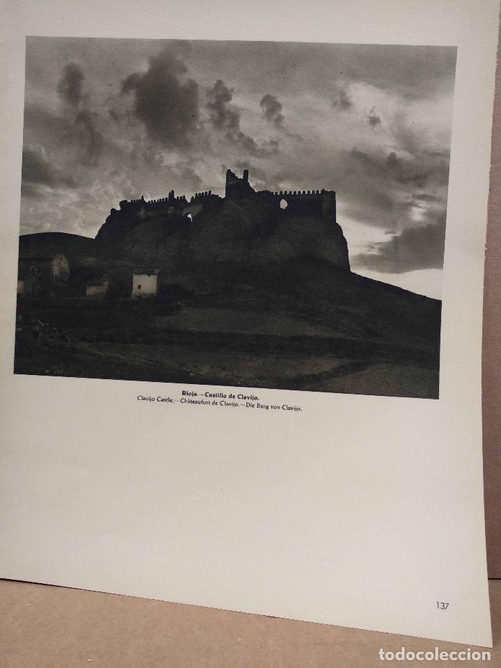 Arte: Lote 8 fotografias huecograbado de La Rioja de Jose Ortiz Echague - Foto 6 - 198387910