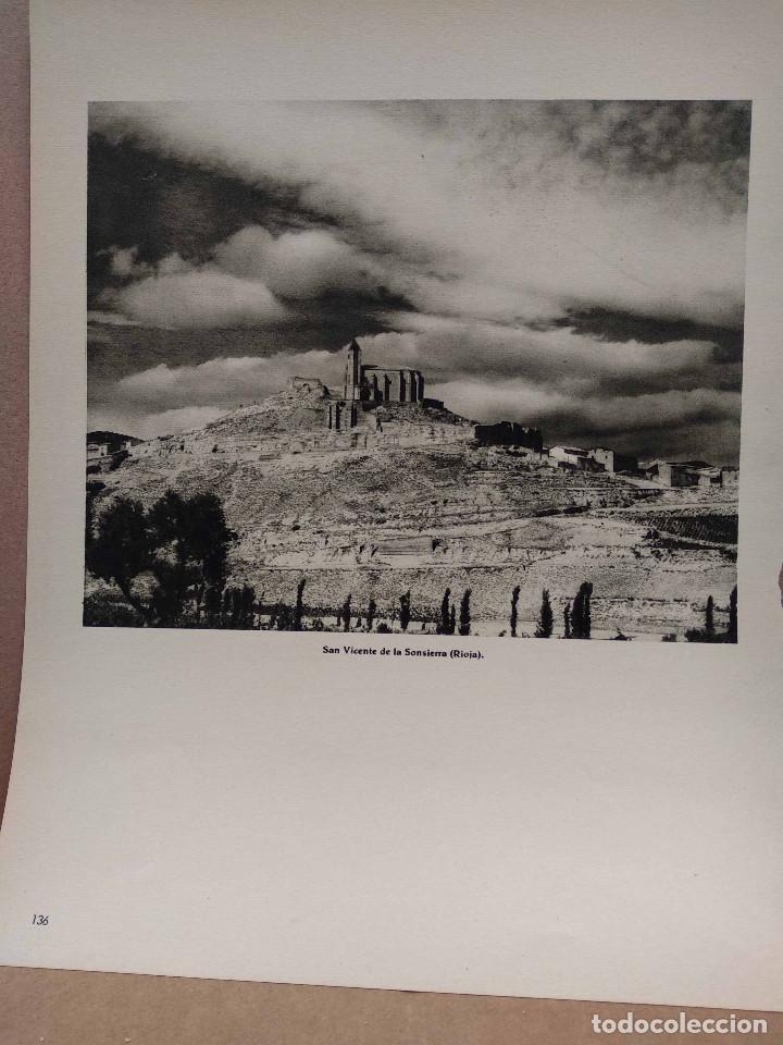 Arte: Lote 8 fotografias huecograbado de La Rioja de Jose Ortiz Echague - Foto 7 - 198387910