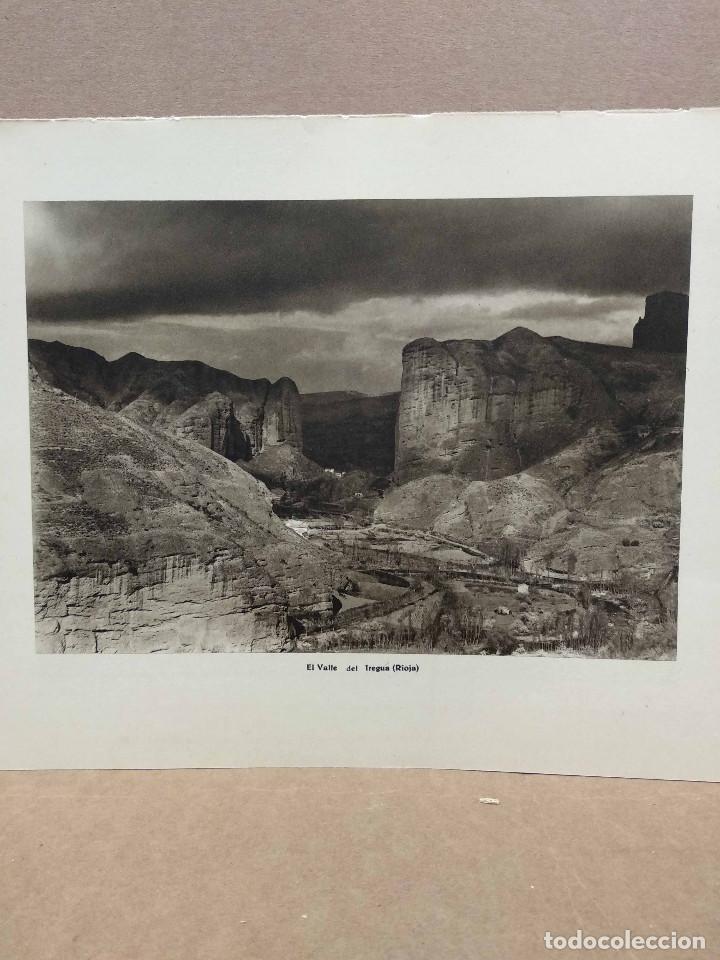 Arte: Lote 8 fotografias huecograbado de La Rioja de Jose Ortiz Echague - Foto 8 - 198387910