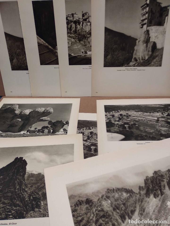 LOTE 9 FOTOGRAFIAS HUECOGRABADO DE CUENCA DE JOSE ORTIZ ECHAGUE (Arte - Huecograbado)