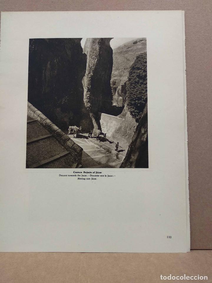 Arte: Lote 9 fotografias huecograbado de Cuenca de Jose Ortiz Echague - Foto 7 - 198387998
