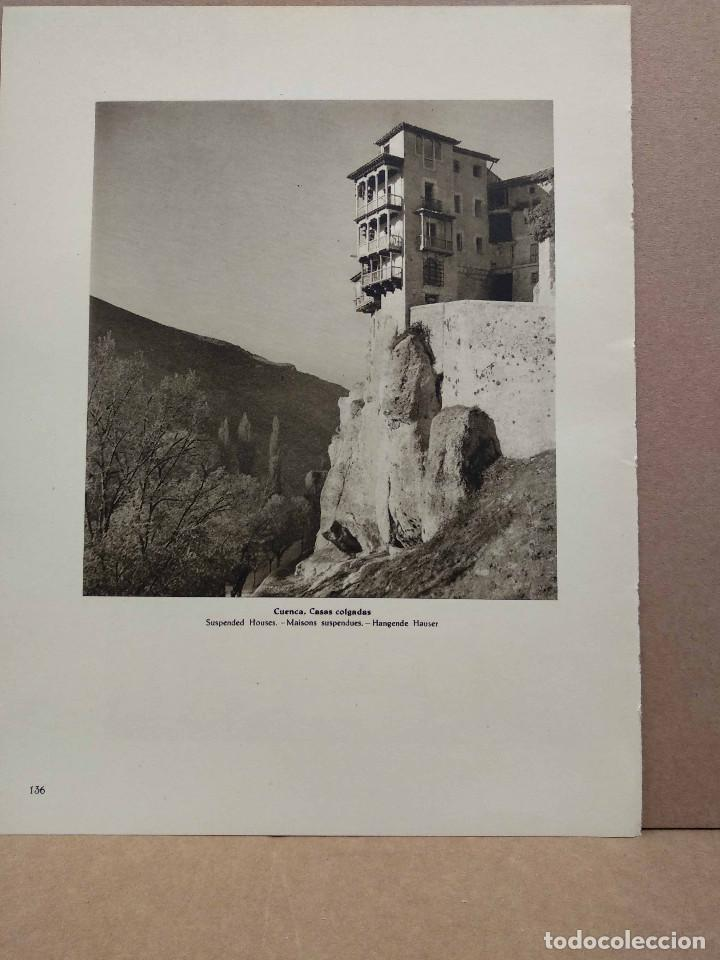 Arte: Lote 9 fotografias huecograbado de Cuenca de Jose Ortiz Echague - Foto 8 - 198387998