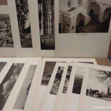 Arte: LOTE 15 FOTOGRAFIAS HUECOGRABADO DE CADIZ DE JOSE ORTIZ ECHAGUE. Lote 198467677