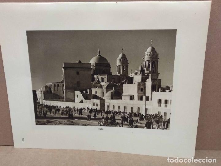 Arte: Lote 7 fotografias huecograbado de Cadiz de Jose Ortiz Echague - Foto 3 - 198468171