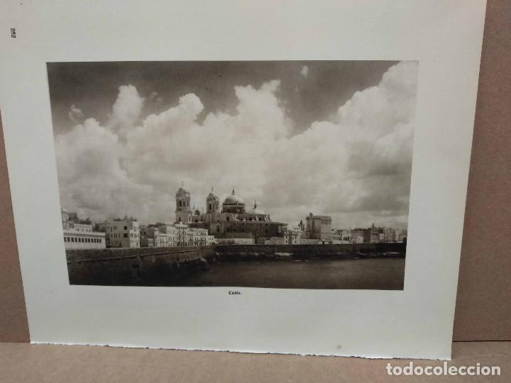 Arte: Lote 7 fotografias huecograbado de Cadiz de Jose Ortiz Echague - Foto 6 - 198468171