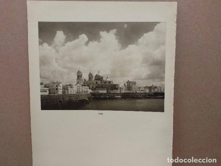 Arte: Lote 7 fotografias huecograbado de Cadiz de Jose Ortiz Echague - Foto 7 - 198468171