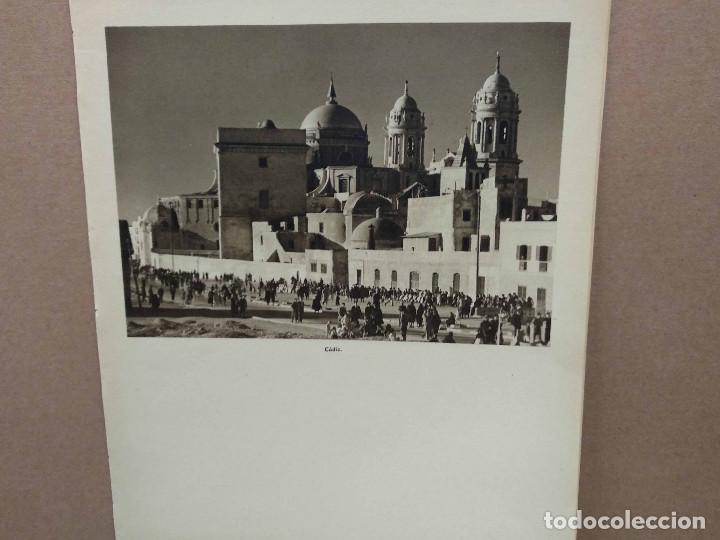 Arte: Lote 7 fotografias huecograbado de Cadiz de Jose Ortiz Echague - Foto 8 - 198468171