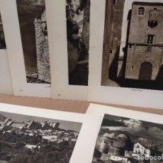 Arte: LOTE 6 FOTOGRAFIAS HUECOGRABADO DE CACERES DE JOSE ORTIZ ECHAGUE. Lote 198470896