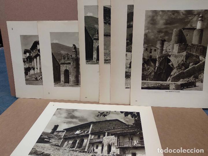 LOTE 7 FOTOGRAFIAS HUECOGRABADO DE SANTANDER DE JOSE ORTIZ ECHAGUE (Arte - Huecograbado)