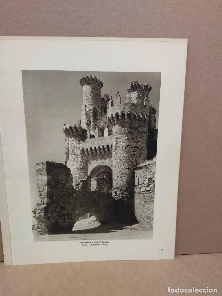 Arte: Lote 5 fotografias huecograbado de Leon de Jose Ortiz Echague - Foto 2 - 198471937