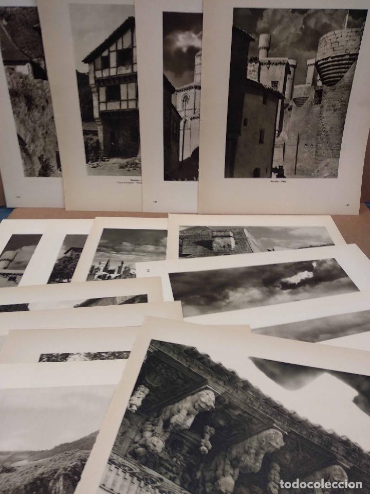 LOTE 12 FOTOGRAFIAS HUECOGRABADO DE NAVARRA DE JOSE ORTIZ ECHAGUE (Arte - Huecograbado)