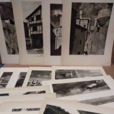 Arte: LOTE 12 FOTOGRAFIAS HUECOGRABADO DE NAVARRA DE JOSE ORTIZ ECHAGUE. Lote 198472198