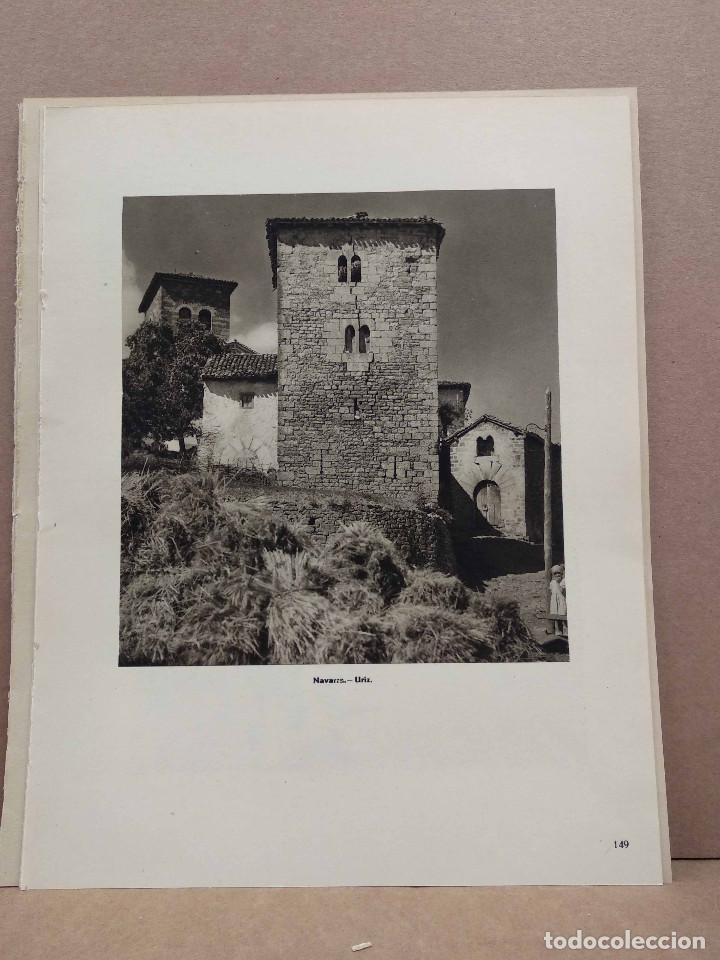 Arte: Lote 12 fotografias huecograbado de Navarra de Jose Ortiz Echague - Foto 4 - 198472198