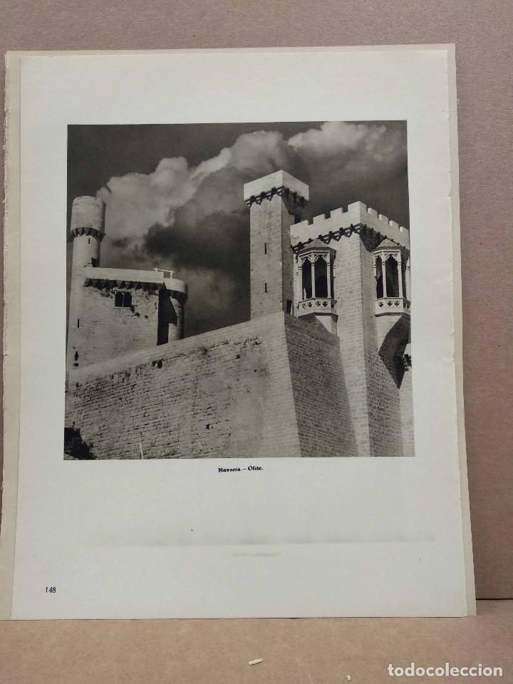 Arte: Lote 12 fotografias huecograbado de Navarra de Jose Ortiz Echague - Foto 5 - 198472198