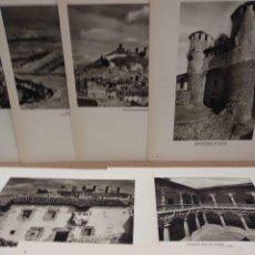 Arte: LOTE 7 FOTOGRAFIAS HUECOGRABADO DE GUADALAJARA DE JOSE ORTIZ ECHAGUE. Lote 198472398
