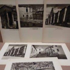 Arte: LOTE 6 FOTOGRAFIAS HUECOGRABADO DE CORDOBA DE JOSE ORTIZ ECHAGUE. Lote 199261375